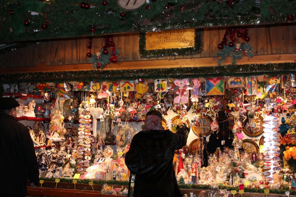 Рождественский базар Вена