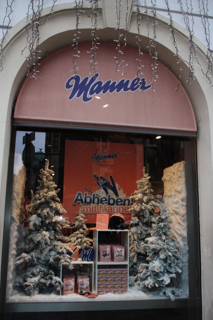 Витрина магазина в Вене