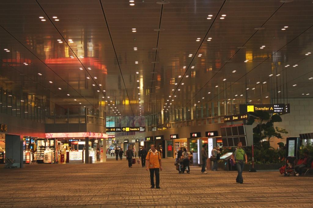 Аэропорт в Сингапуре