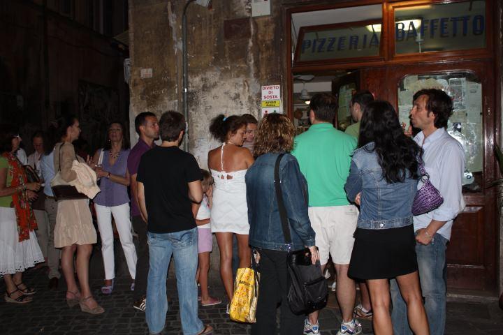 Пиццерия в Риме