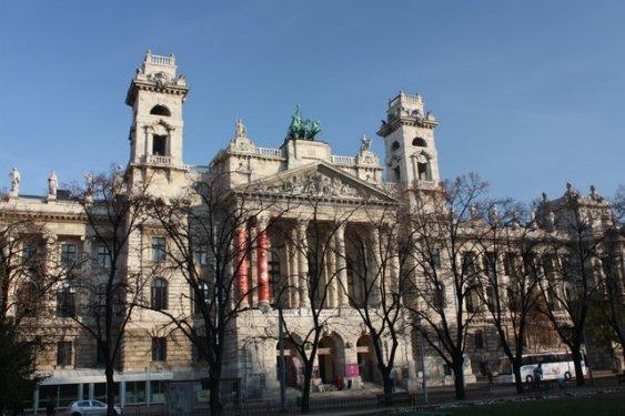 Этнографический музей в Будапеште