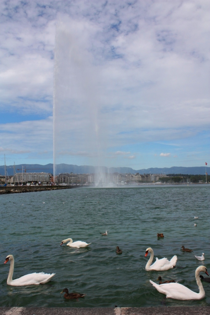 Женевский фонтан