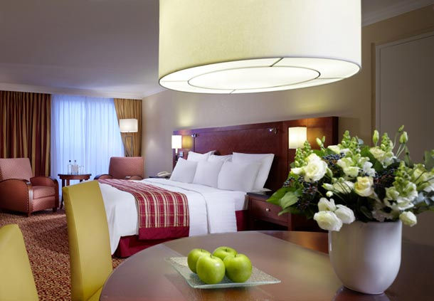Номер Executive в Marriott Amsterdam Hotel