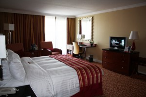 Номер Executive в отеле Marriott в Амстердаме