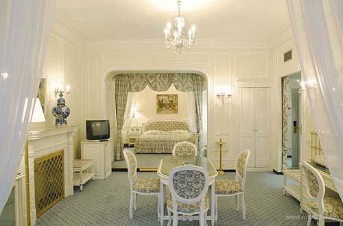 Номер Suite в Ambassador Zlata Husa Praha