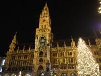 мариенплац ратуша мюнхен