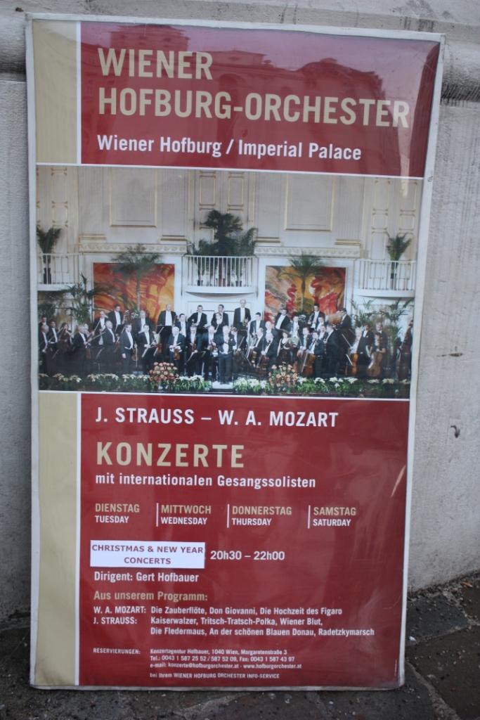 Концерт в Хофбурге