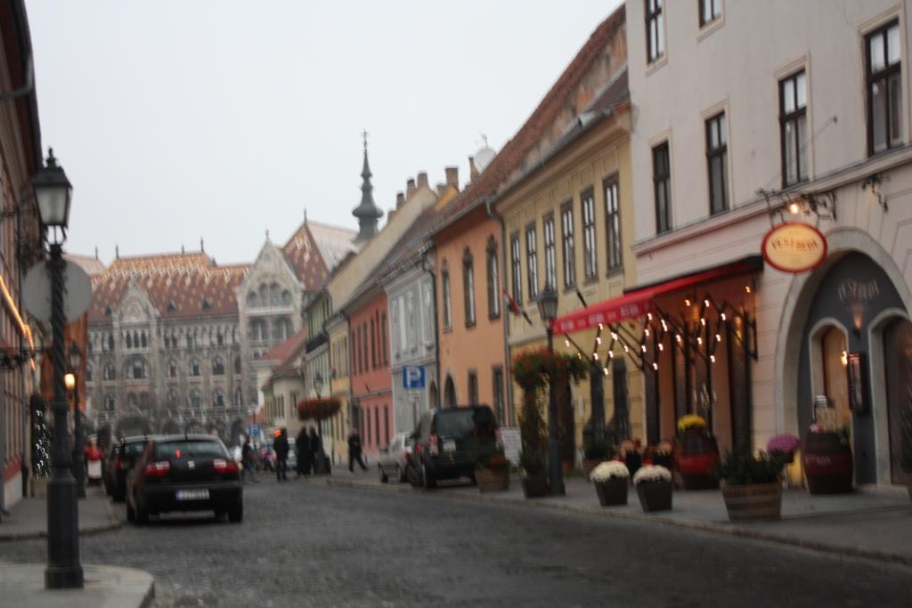 Улица Фортуна в Будапеште