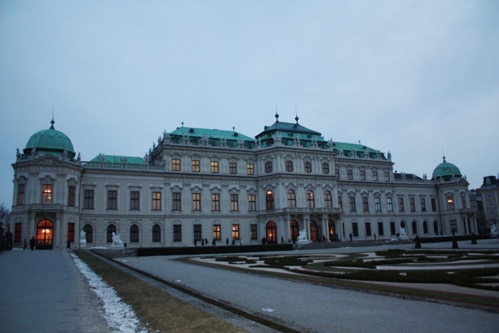 Верхний Бельведер в Вене