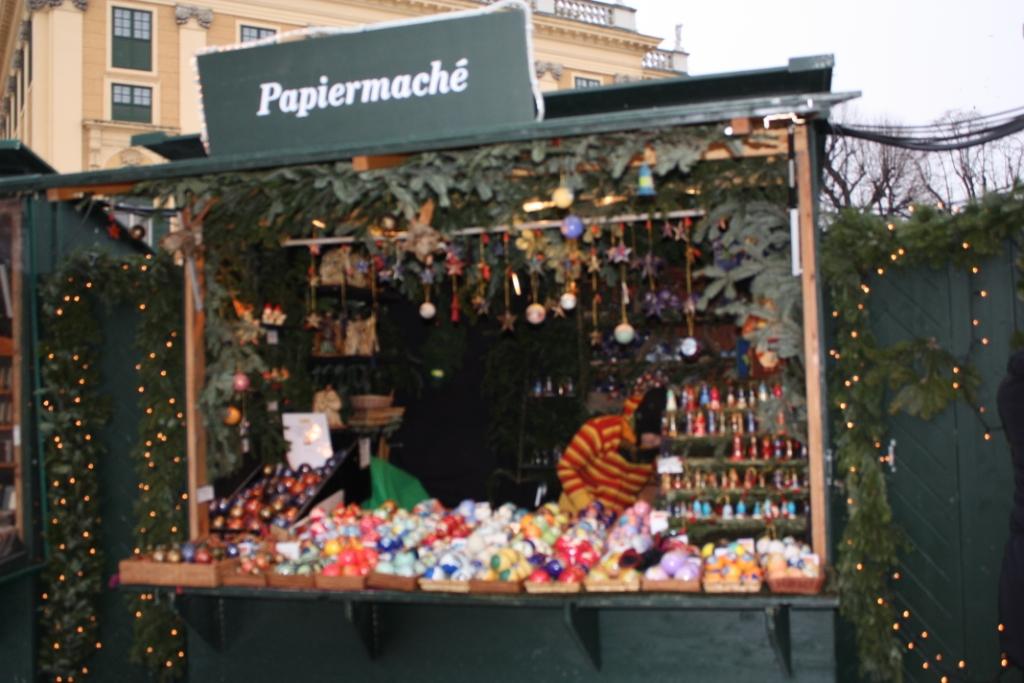 Рождественский базар-Дворец Шёнбрунн