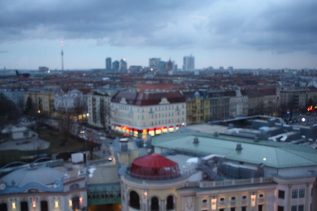 Пратер в Вене-панорама города