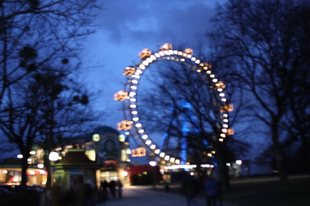 Колесо обозрения в Вене