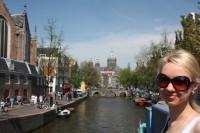 Анна Романова в Амстердаме