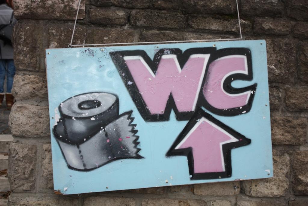 Туалет в Будапеште
