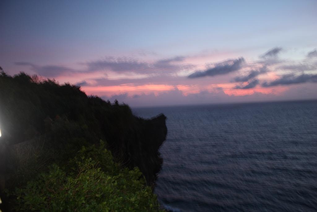 Закат в Улувату