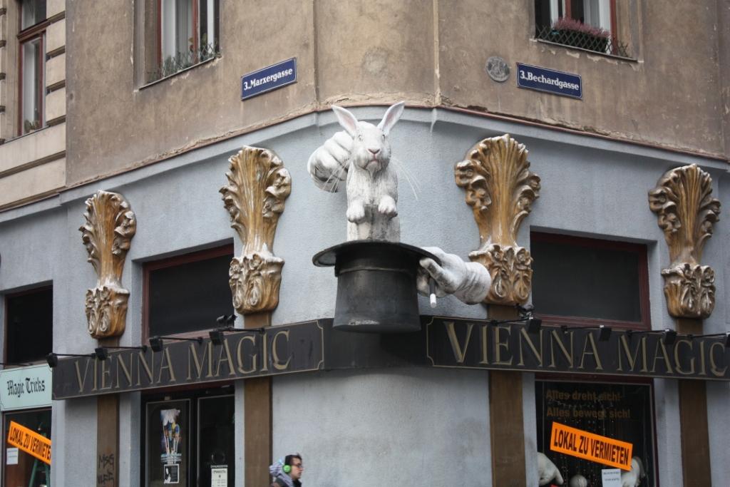 Магазин магии в Вене