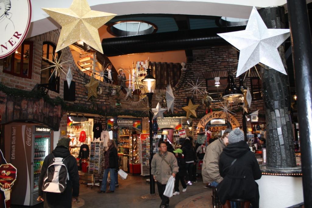 Магазинная галерея Хундертвассера