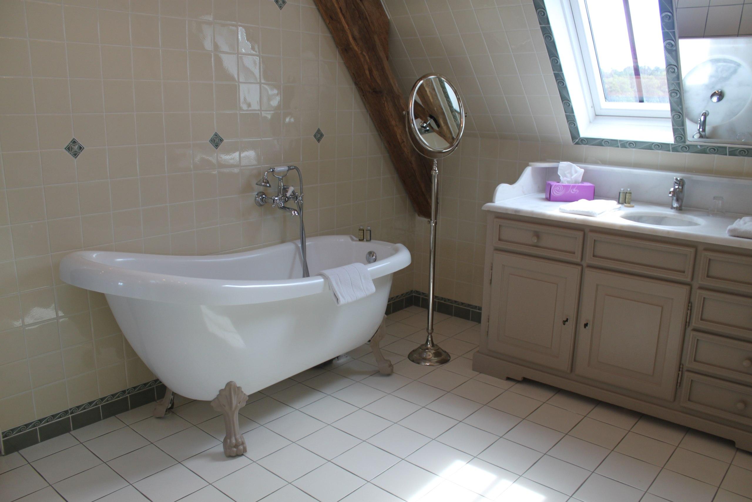 Ванная в Chateau-des-Arpentis