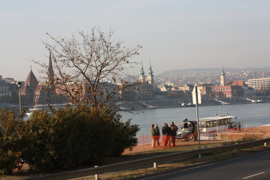 Набережная в Будапеште
