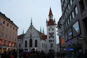 Старая Ратуша на Мариенплац
