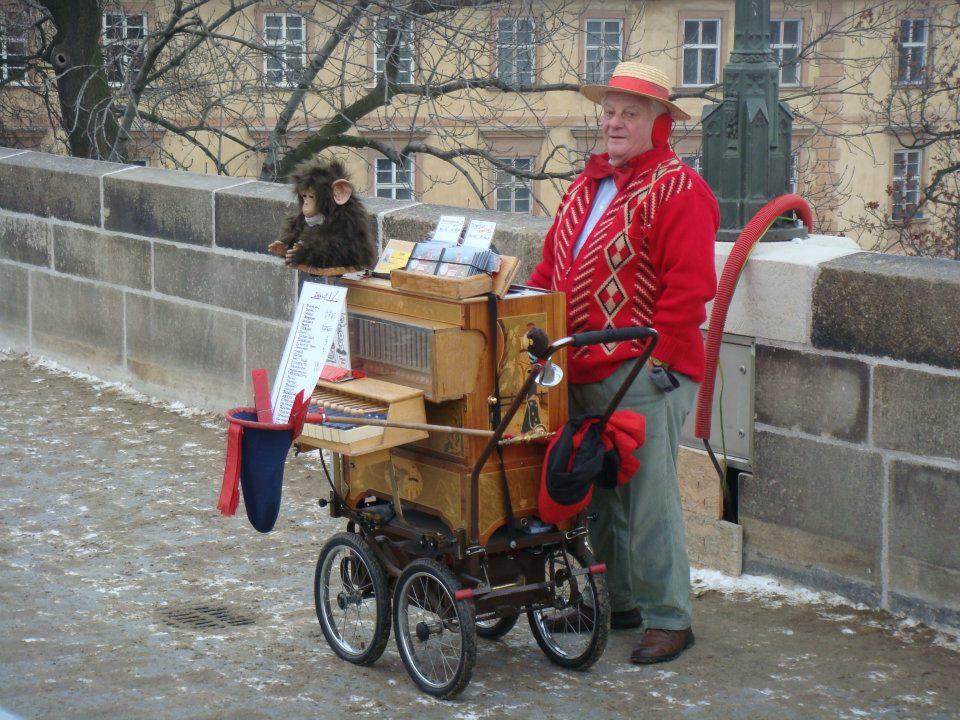 Шарманщик в Праге