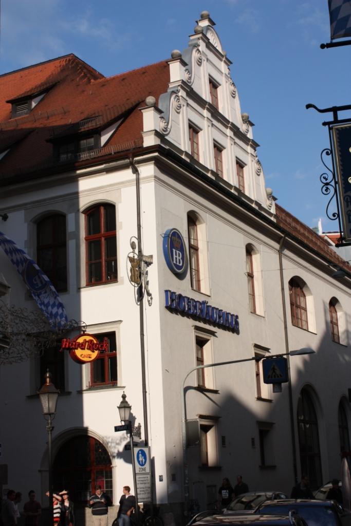 Хофбройхаус-пивоварня в Мюнхене