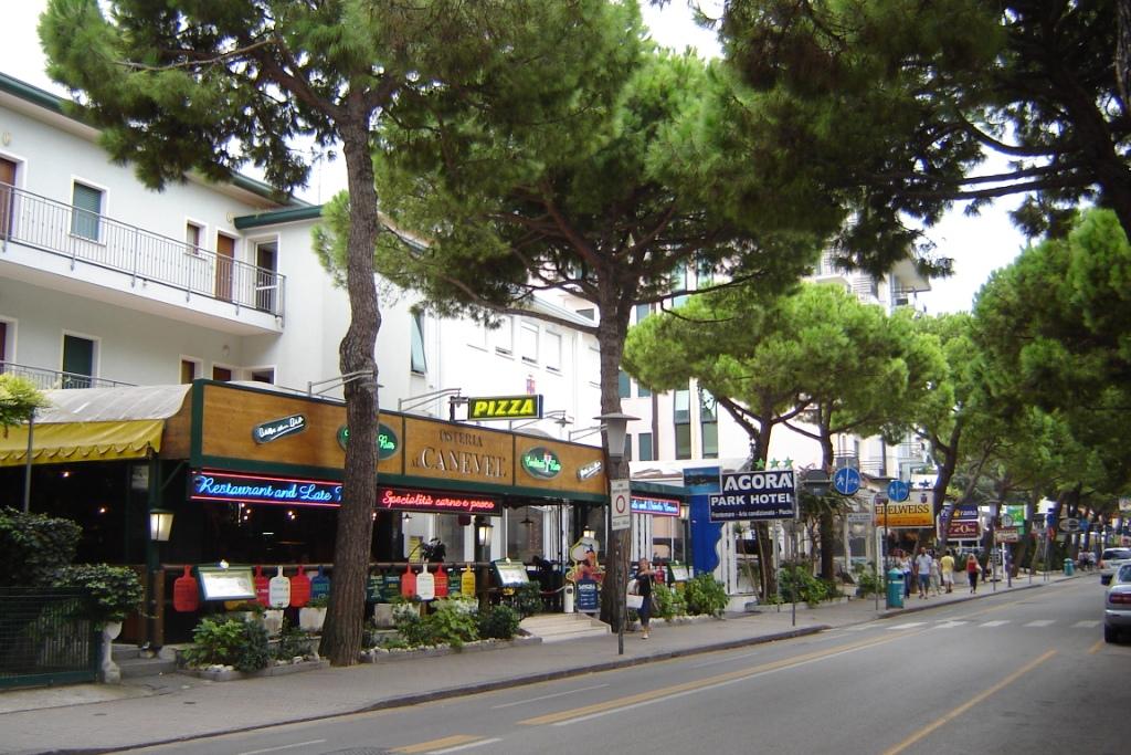 Лидо-ди-Езоло-улица