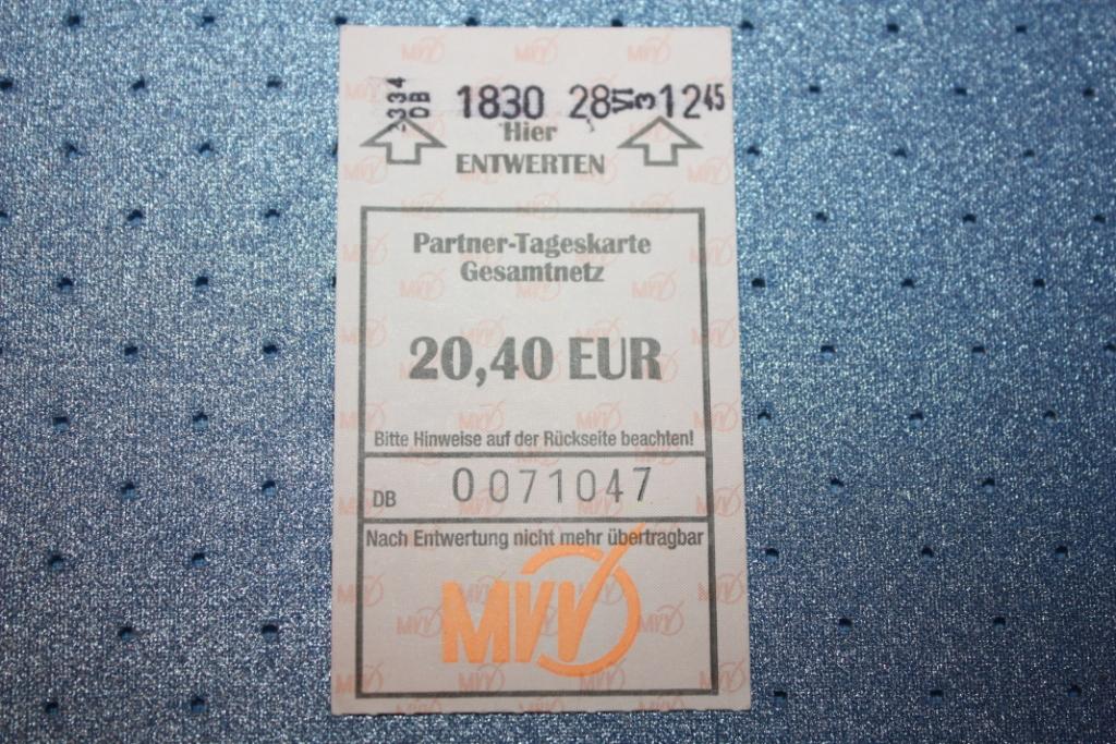 Билет в Мюнхене