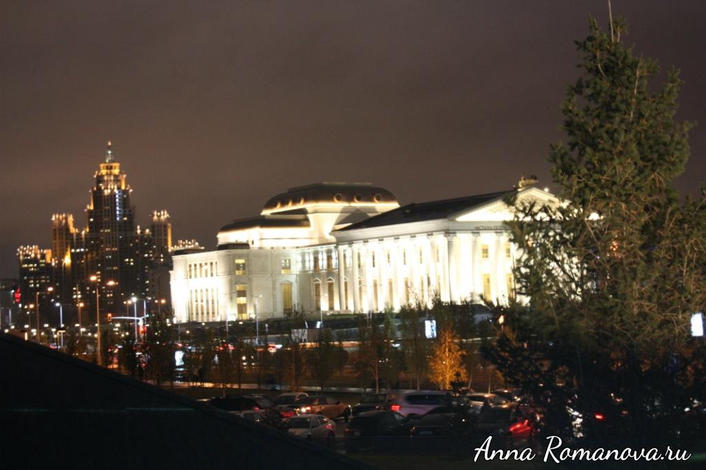 Астана-вечером