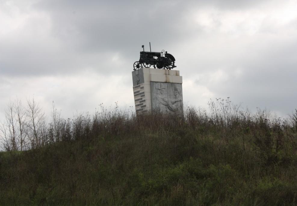 Памятник-машина