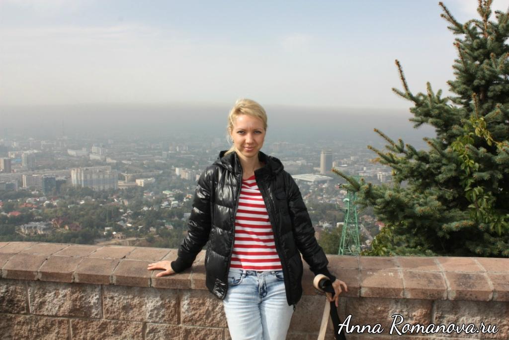 Гора Кок-Тобе Панорама Алматы
