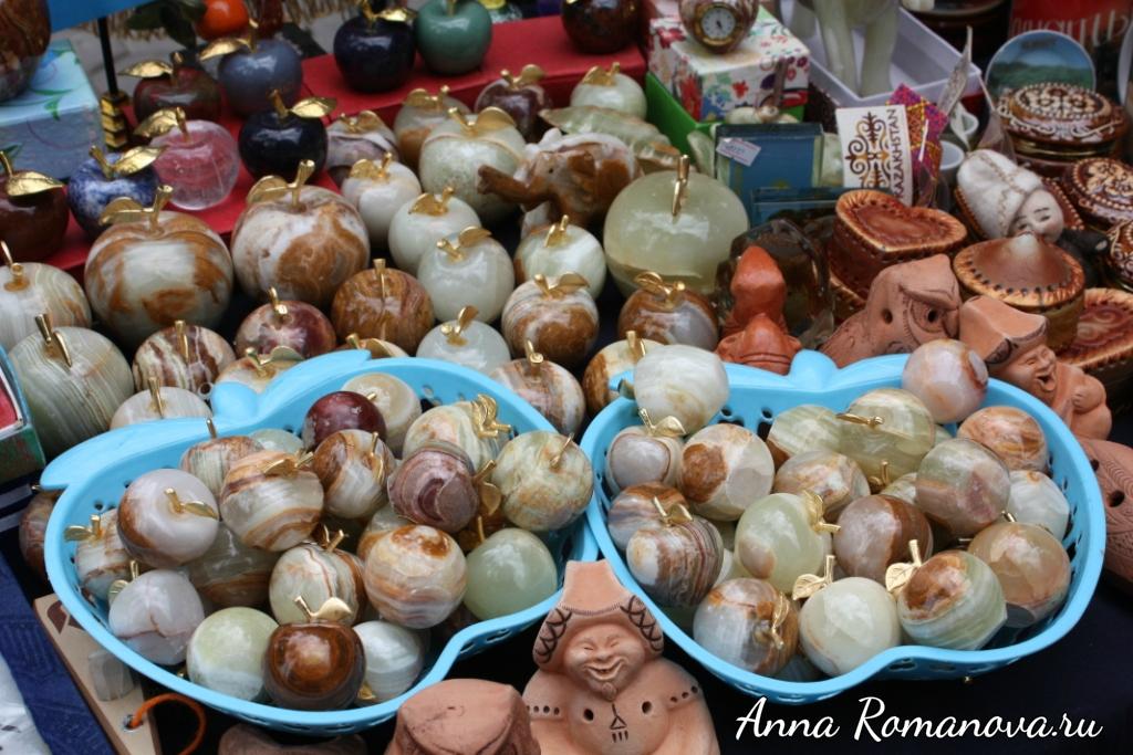 Сувениры яблоки Алматы