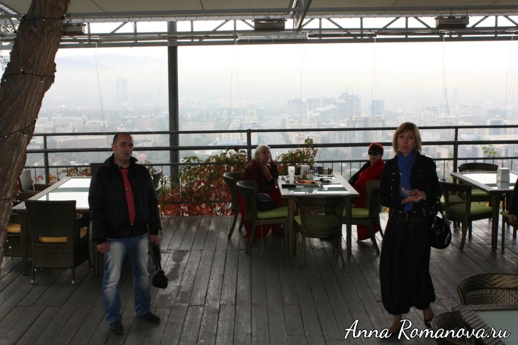 Ресторан с панорамным видом на Алматы Кок-Тобе