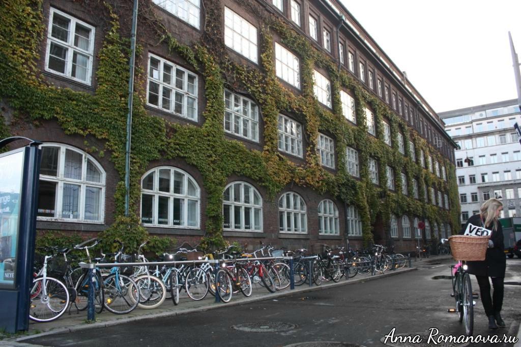 велосипед в Дании