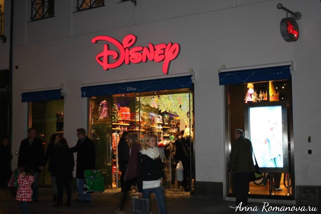 магазин игрушек Уолта Диснея в Копенгагене