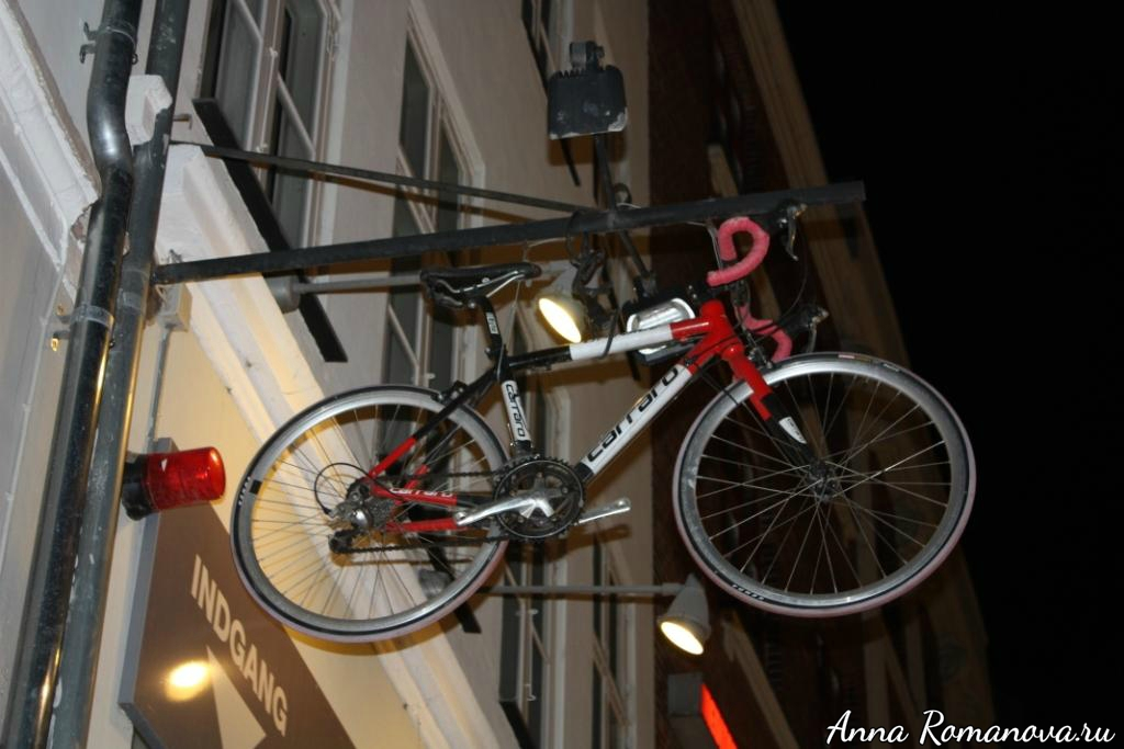велосипед в Копенгагене