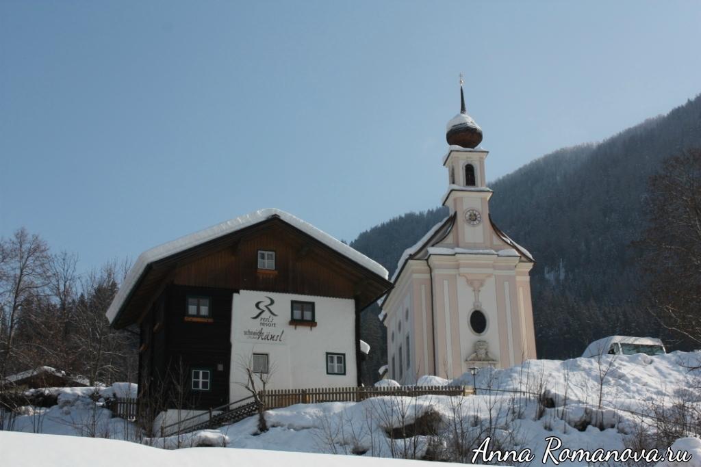 Церковь в Флахау