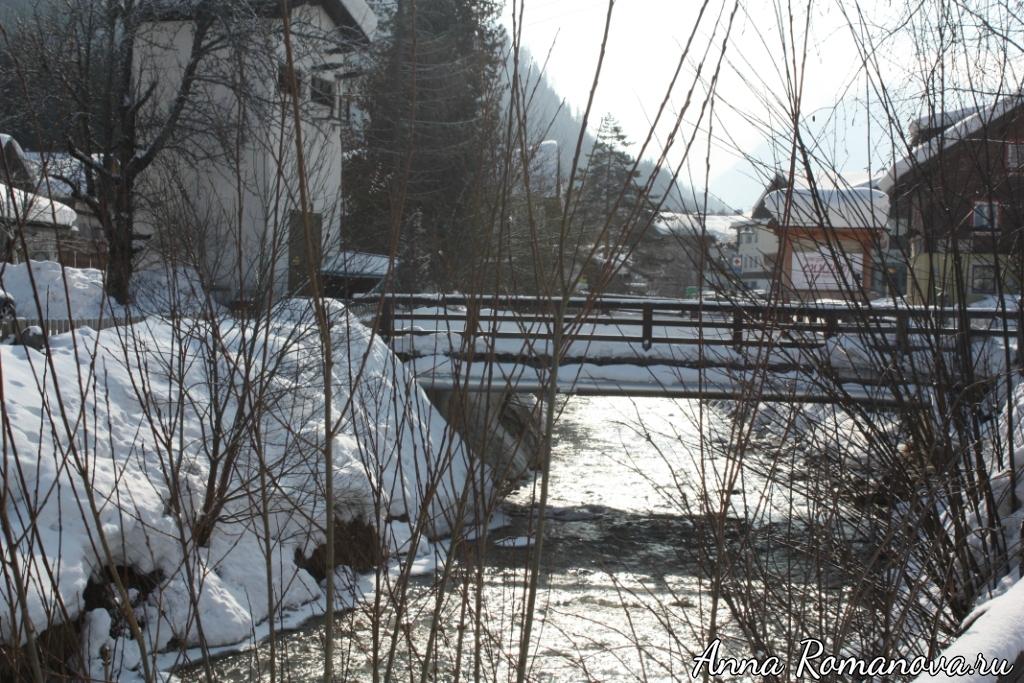 Горная река Флахау