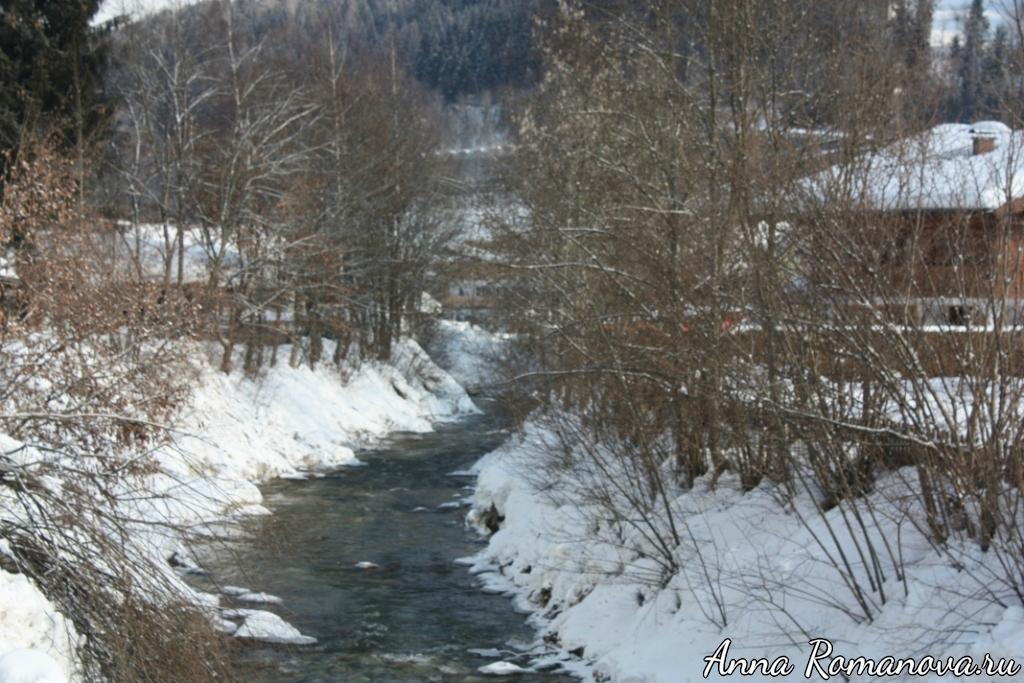 Горная река в Флахау