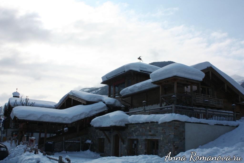 Домики в горной деревушке