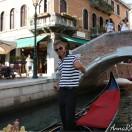 Гондольер в Венеции