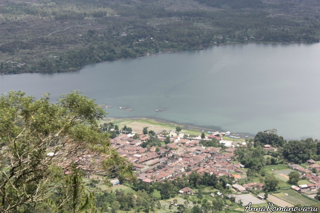 озеро Батур Бали