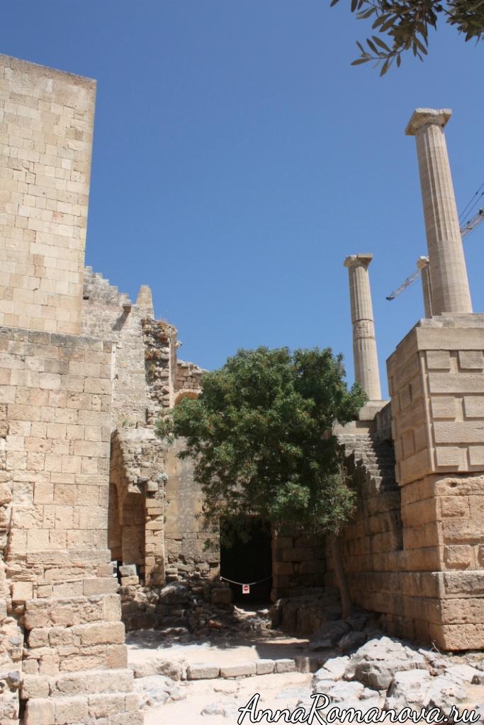 Акрополь в Линдосе Родос