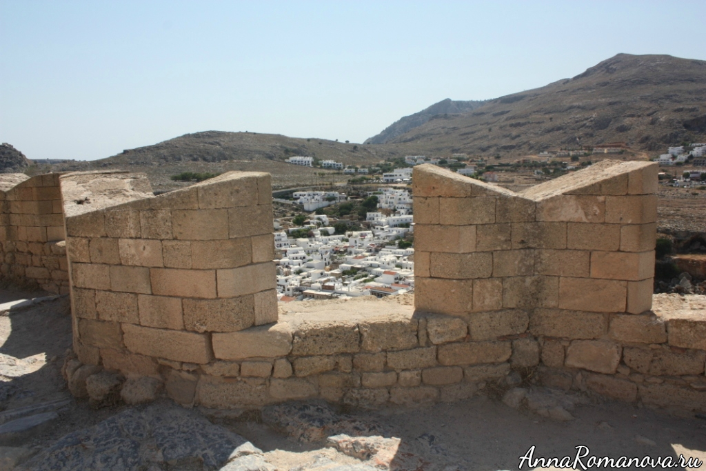 Акрополь Линдос