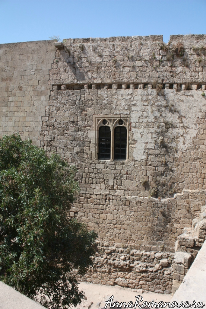 Акрополь Линдос в Греции