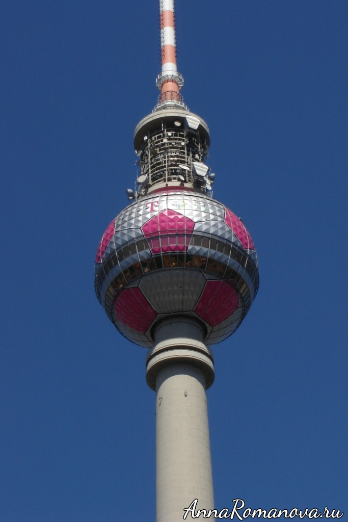 телевизионная башня в берлине