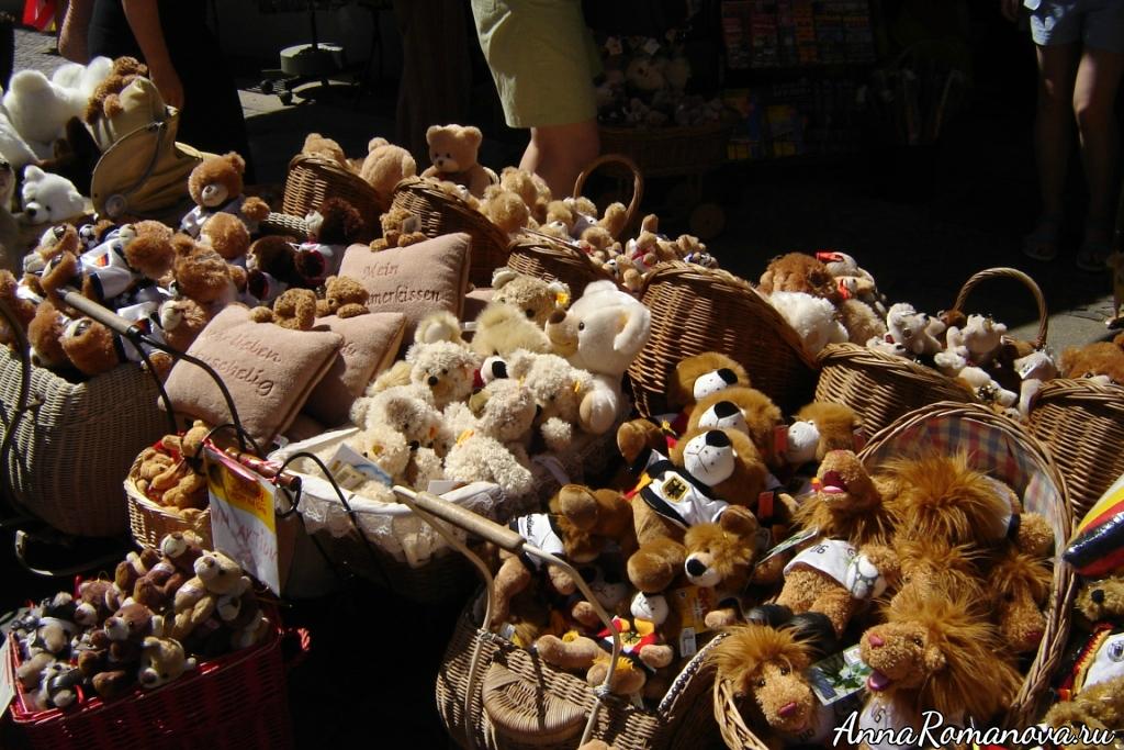 Мишки в Берлине