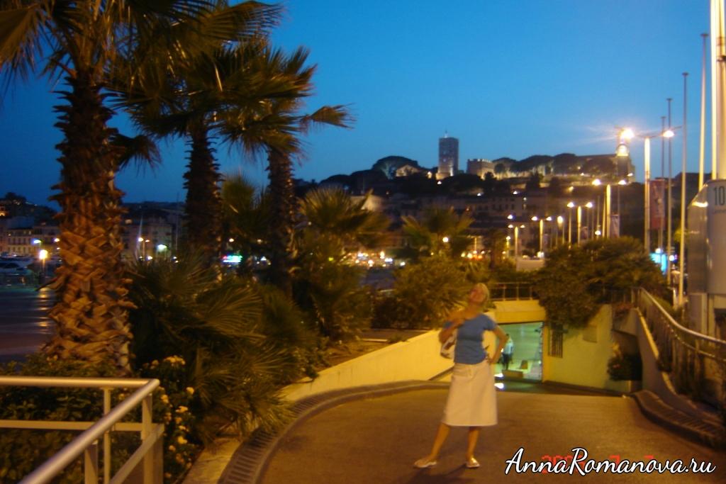 Монте-Карло вечером