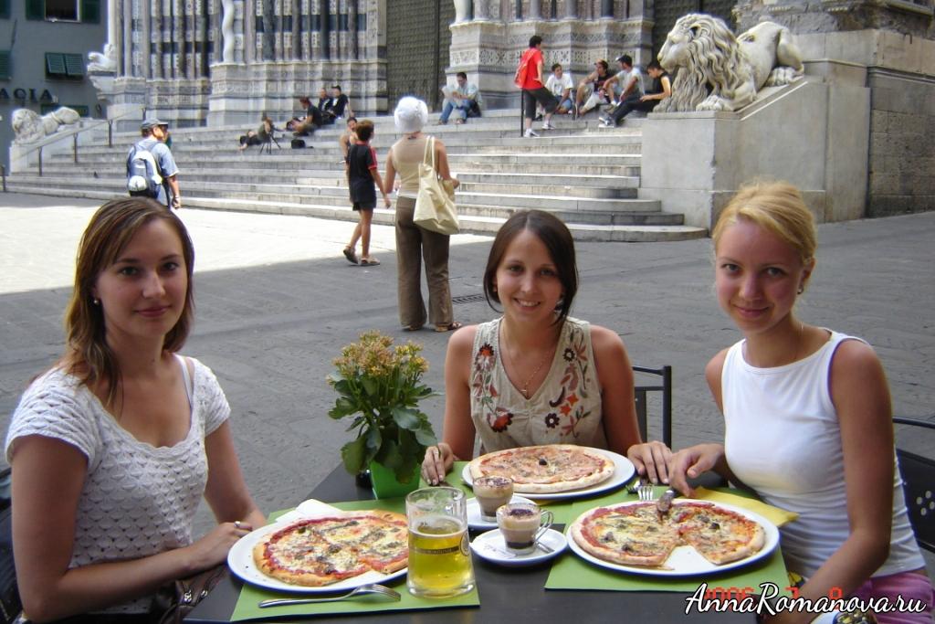 Пицца в Генуе