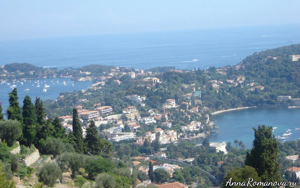На пути из Ниццы в Монако